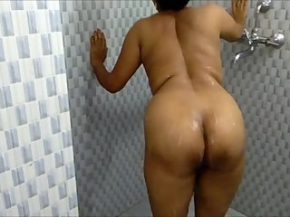 Indian StepSister Bathroom Shower Sex MMS Leaked By Room Cleaner