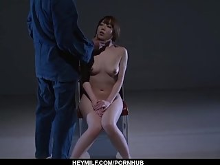 Rina Uchimura gets pussy stimulated in raw bond - More at Japanesemamas com