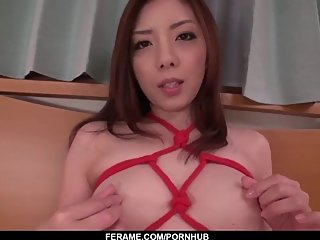 Maki Mizusawa hot scenes of home POV blowjob - More at Slurpjp com