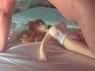 Beautiful Teen Doll Japanese With 60 year old Australian Man