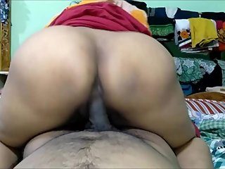 Friend Sister Riding My Big Dick Cum On Her Big Ass