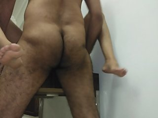 Desi aunty with old boss in hotel room hard chudai for money - hindi audio