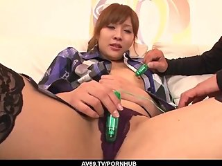 Perfect scenes of home sex with naked Rinka Aiuchi - More at 69avs com