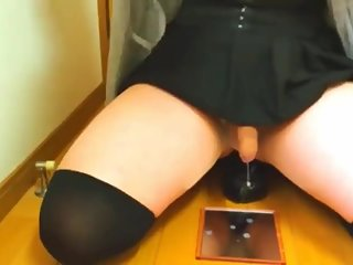 Japanese Crossdresser Masturbation 22