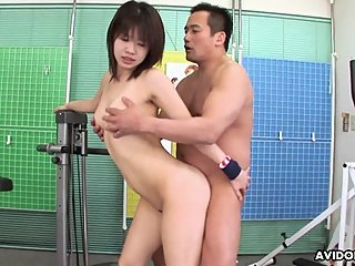 Japanese fuck doll, Shizuka got banged hard, uncensored