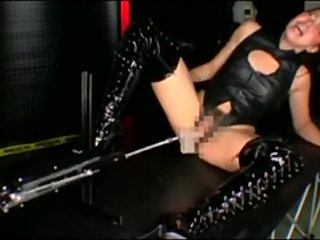 japanese boots machine fucked