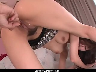 Casting Japanese babe is set for a wild fuck - More at 69avs com