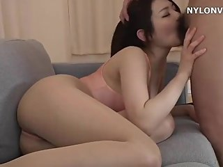 Sexy Japanese yoga teacher get fucked