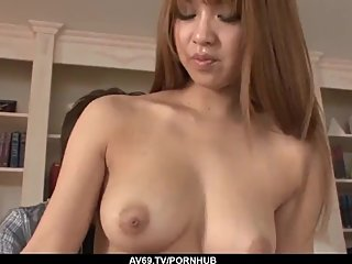 Sweet fuck pleasures for busty Ruru Kashiwagi - More at 69avs com