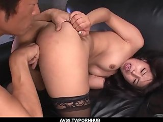Strong Asian sexual play for naked Eririka Katagir - More at 69avs com