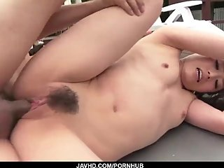 Sexy Kana Miyashita fucks in outdoor and swallows - More at javhd.net