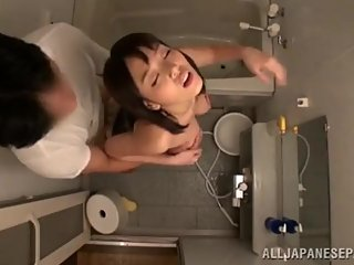 JAPANESE MILF DEEPTHROATS AND RIDES COCK - JAPANESE MILF PORN
