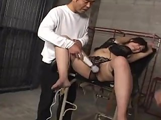 Dominant Asian Trio Work Over Two Pretty Japanese Girls With Vibes And BJs