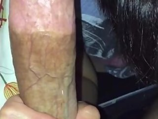Cheating asian wife loves my big cock
