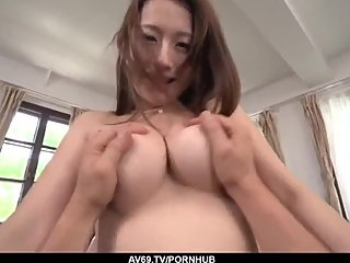Perfect POV Japanese sex with Reon Otowa - More at 69avs com