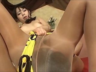 Japanese Pantyhose Cunnilingus Fetish Part 12