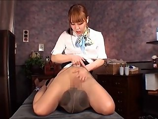 Japanese Pantyhose Cunnilingus Fetish Part 10