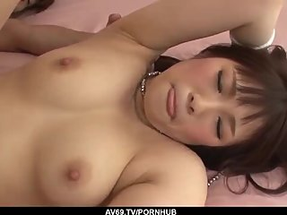 Best Asian amateur fuck session along Yuri Sato - More at 69avs com