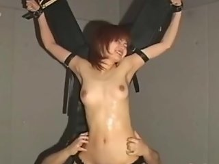 japanese cute spy tickling pt1