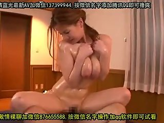 A lactatting wife gets horny after massage