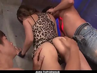 Aika gets pumped a lot and jizzed on face and tits - More at 69avs com