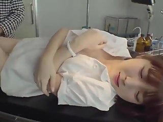 Cute nurse has to give amazing blowjobs for her patient pt5