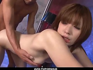 Full anal pleasures for Japanese Mami Yuuki - More at 69avs com