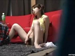 masturbation of a Japanese stepsister