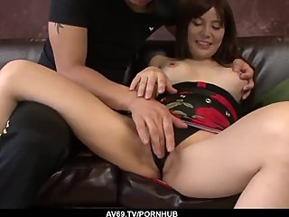 Supreme Japanese passion on cock by Karen Natsuhar - More at 69avs com