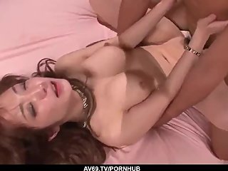 Sana Anzyu reaches orgasm during such crazy XXX - More at 69avs com