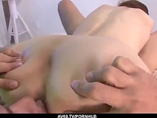 Strong encounter with a big dick for sexy Mami Yuuki