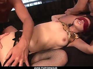 Ann Yabuki gets a lot of Japanese dick to play wit - More at 69avs com