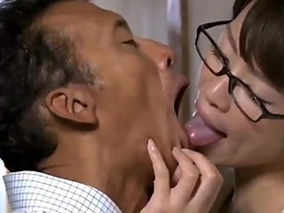 Deep Tounge Kissing with Dirty Old Men